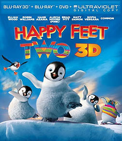 Happy Feet Two [Blu-ray 3D + Blu-ray + DVD + UV Copy]Blu-ray