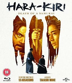 Hara-Kiri - Death Of A SamuraiBlu-ray