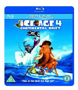 Ice Age 4: Continental Drift [Triple Pack]Blu-ray