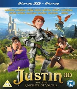 Justin and the Knights of Valour [Blu-ray + 3D]Blu-ray