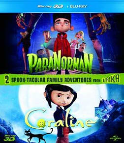 ParaNorman 3D / Coraline 3D Double PackBlu-ray