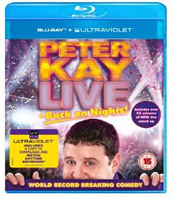 Peter Kay: Live & Back on Nights!Blu-ray