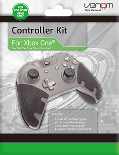 Venom Xbox One Controller Grip Custom Modification Kit (Xbox One)Accessories