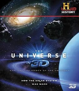 The Universe in 3D: How The Solar System Was MadeBlu-ray
