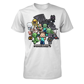 Minecraft Youth T-Shirt - Party - Size 9-10 YrsClothing and Merchandise