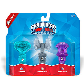 Skylanders Trap Team Triple Trap Pack - Air, Undead and MagicToys and Gadgets