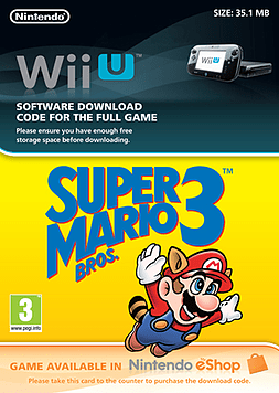 Super Mario Bros 3Wii-UCover Art