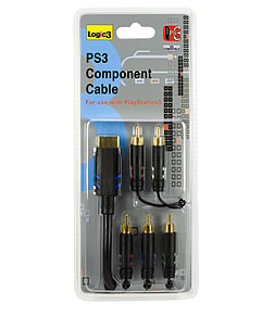 Logic3 Component Cable for PS3 PS3