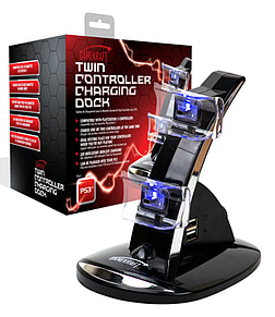 Gamekraft Twin Controller Charging Dock - PS3 PS3