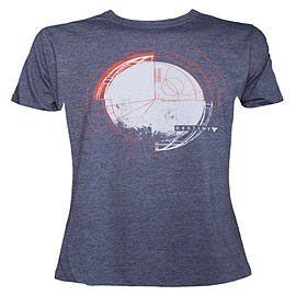 Destiny Circle Ruler Blue Heather T-Shirt - Size SmallClothing and Merchandise