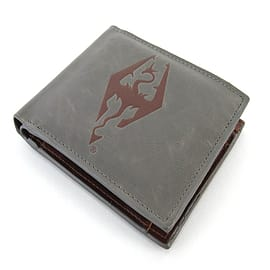 The Elder Scrolls V Skyrim Faux Leather Dragonborn WalletGifts