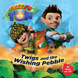 Tree Fu Tom: Twigs and the Wishing Pebble (Paperback)Books