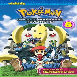 Pokemon Diamond and Pearl Adventure! Vol. 8 (Paperback)Books