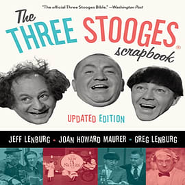 THE THREE STOOGES SCRAPBOOK (Paperback)Books