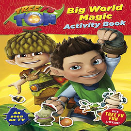 Tree Fu Tom: Big World Magic Activity Book (Paperback)Books