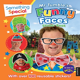 Something Special Mr Tumble's Funny Faces Sticker Book (Paperback)Books