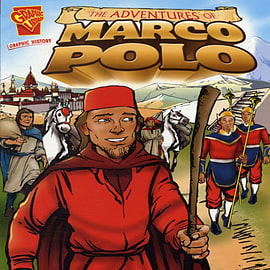 The Adventures of Marco Polo (Graphic History) (Paperback)Books
