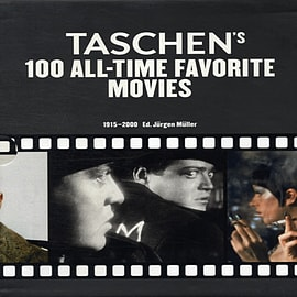 TASCHEN's 100 All-Time Favorite Movies (2 Volume Slipcase) (Paperback)Books