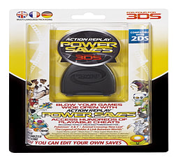 Action Replay Power Saves for the 3DS/2DS 3DS