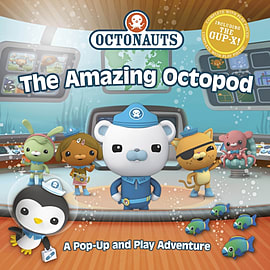 Octonauts: The Amazing Octopod: A Pop-up and Play Adventure (Hardcover)Books