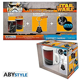 STAR WARS Pack Mug + Keychain + BadgesHome - Tableware