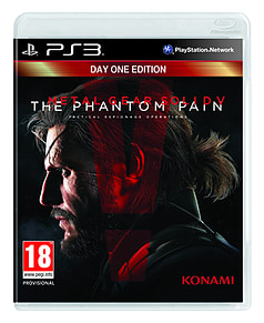 Metal Gear Solid V: The Phantom Pain Day 1 EditionPlayStation 3Cover Art