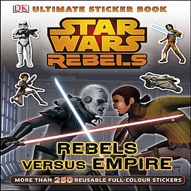 Star Wars Rebels Rebels Versus Empire Ultimate Sticker Book (Ultimate Stickers) (Paperback)Books