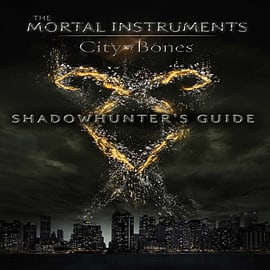 City of Bones: Shadowhunter's Guide (The Mortal Instruments) (Paperback)Books