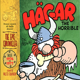 Hagar the Horrible: The Epic Chronicles: The Dailies 1976-1977 (Hardcover)Books