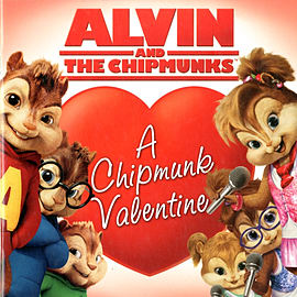 Alvin and the Chipmunks: A Chipmunk Valentine (Paperback)Books