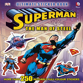 Superman the Man of Steel Ultimate Sticker Book (Ultimate Stickers) (Paperback)Books