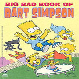 Simpsons Comics Present the Big Bad Book of Bart (Paperback)Books