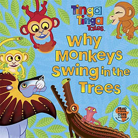 Why Monkeys Swing in the Trees (Tinga Tinga Tales) (Paperback)Books