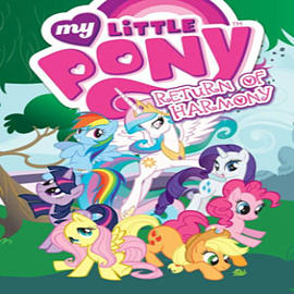 My Little Pony: Return of Harmony (Paperback)Books