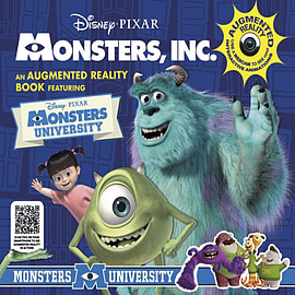 Monsters Inc. an Augmented Reality Book (Augmented Realitiy) (Hardcover)Books