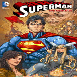 Superman Vol. 4: Psi-War (The New 52) (Superman (DC Comics Numbered)) (Hardcover)Books