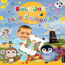 Baby Jake Busy Colouring (Paperback)Books