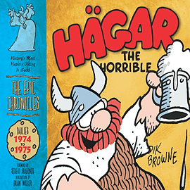 Hagar the Horrible (the Epic Chronicles Of): Dailies 1974-75 (Hardcover)Books