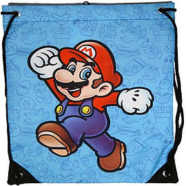 Nintendo Super Mario Gym BagClothing and Merchandise