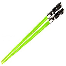 Star Wars Yoda Lightsaber Chopsticks SetHome - Tableware