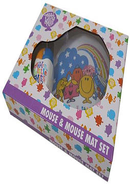 Mister Men Mr Men And Little Miss Mouse and Mousemat Set PC