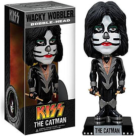 Kiss The Catman Wacky WobblerFigurines