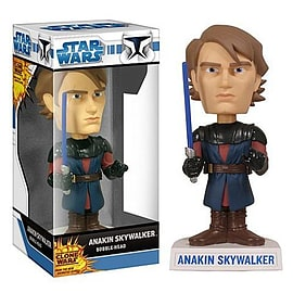 Star Wars Clone Wars Akin Skywalker Bobble HeadFigurines