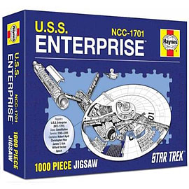 Star Trek Haynes USS Enterprise Jigsaw PuzzlePuzzles and Board Games