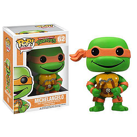 Teenage Mutant Ninja Turtles Michelangelo Pop Television Vinyl FigureFigurines