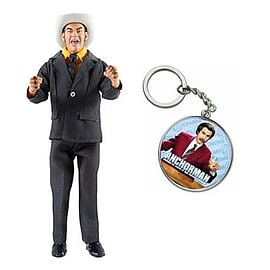 Anchorman Battle Ready Champ Action Figure FREE KeychainFigurines