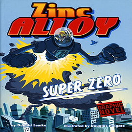 Zinc Alloy Super Zero (Paperback)Books