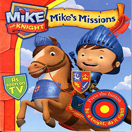 Mike the Knight: Mike's Missions (Board book)Books