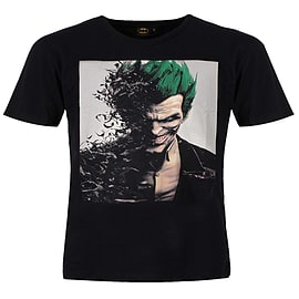 Batman Arkham Origins Joker Black Men's T-shirt: Extra Large (Mens 42- 44)Clothing and Merchandise