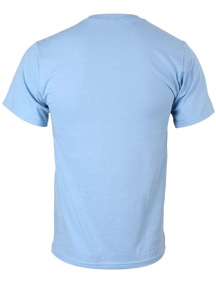 Buy Adventure Time Land of Ooo Map Blue Men\'s T-shirt: Medium (Mens ...